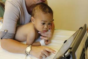 Занятия с ребенком ДЦП