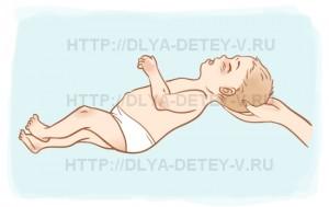 Тест на наличие лабиринтного тонического рефлекса у детей с ДЦП